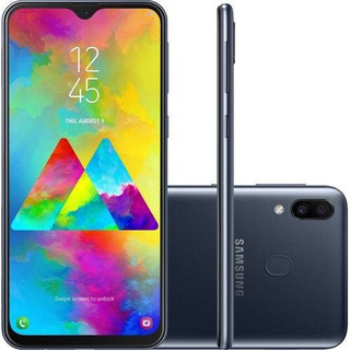 Samsung Galaxy M20 64gb 4gb Ram Dual Chip Novo Lacrado +nf