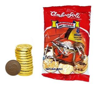 Monedas De Chocolate Bolsa X 45 Unidades - kg a $6