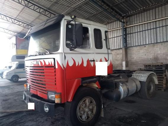 Cavalo Toco 4x2 Scania Lk 111 1982