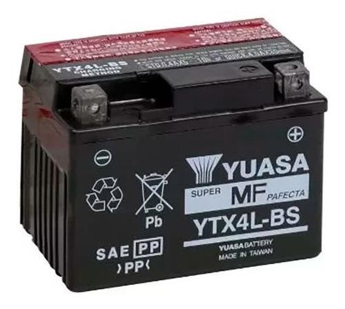Imagen 1 de 2 de Bateria Yuasa Ytx4l-bs / Ytz4v Titan Biz Gel Retira En Sti