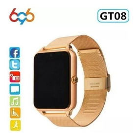 Smart Watch Gt08 Plus Pulseira De Metal Grande Promoção!!!