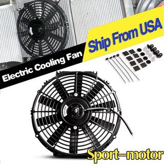 12 Pulgadas Empuje Tire Motor Slim Enfriamiento Ventilador