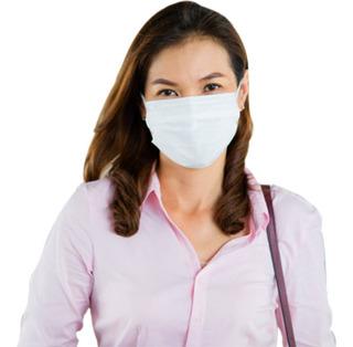 Máscara De Proteção Reutilizável Em Malha Dupla Kit 3 Peças