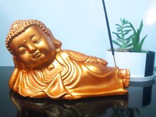 Buda Da Serenidade Posição Nirvana - Incensário