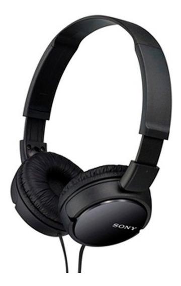 Fone De Ouvido Sony Preto Zx110 Headphone P2 Profissional