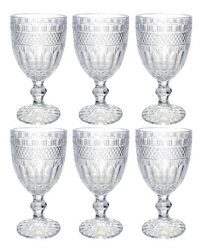 Taça De Vinho Bebida Agua Suco Imperial 360 Ml 6 Peças