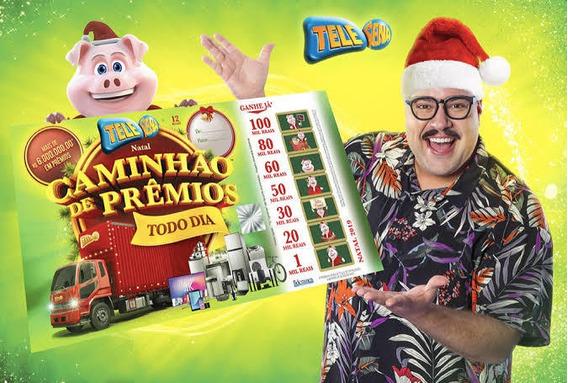 1 Telesena Natal 2019. Frete Grátis, Produto Original.