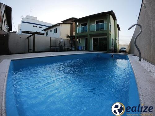 Belíssima Casa Duplex De Alto Padrão Com 04 Quartos Sendo 01 Suíte Na Praia Do Morro - Ca00101 - 34932755