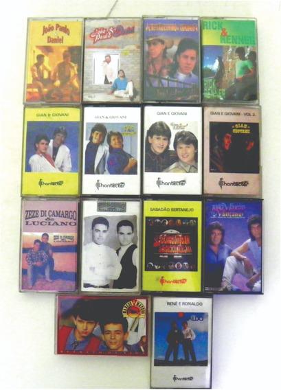 Lote De Fitas Cassete Originais Música Sertaneja