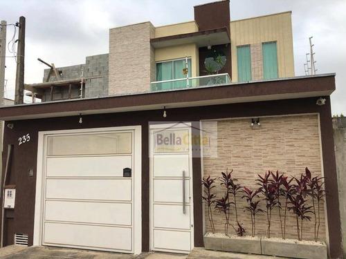 Imagem 1 de 24 de Casa Com 3 Dormitórios À Venda, 171 M² Por R$ 580.000,00 - Jardins Do Paraíso - Mogi Das Cruzes/sp - Ca0718