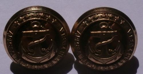 Botones Militares Antiguo Ancla