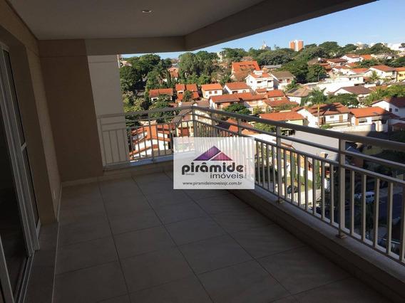 Apartamento Com 3 Dormitórios À Venda, 124 M² Por R$ 765.000,00 - Jardim Esplanada - São José Dos Campos/sp - Ap7823