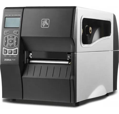 Impressora De Etiquetas Zebra Zt230 Pouquíssimo Tempo De Uso