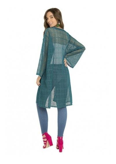 Ensamble De Encaje, Salida De Baño, Kimono. Ilusion 43306