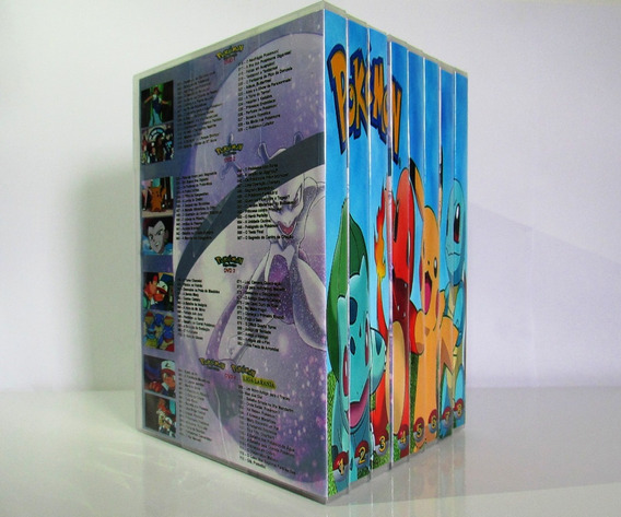 Dvd Pokémon Box Todas As Temporadas Dublado Completo(36dvds)