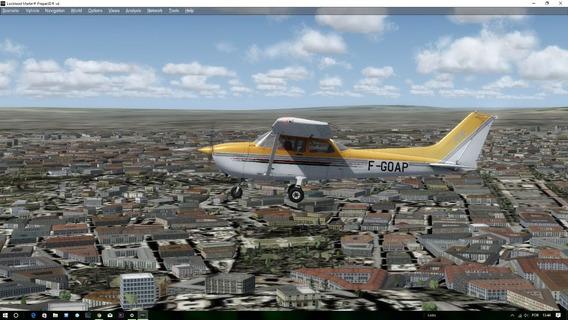 Aeronaves Cessna A2a 172 Para Prepar 3d V4 Simulador