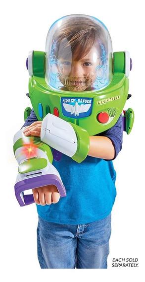Lanzador Armadura Casco Disfraz Buzz Lightyear Toy Story 4
