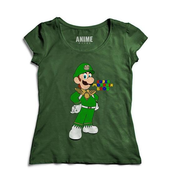 Camiseta Feminina Luigi Game Cod7208