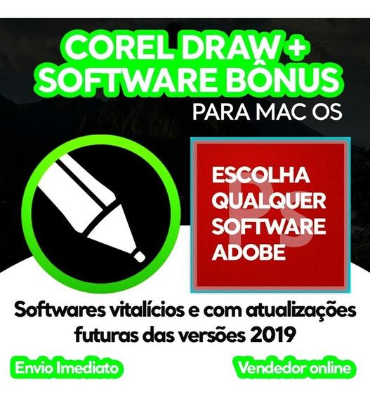 Corel Draw 2019 Para Mac (macos) Corel Draw + Software Brind