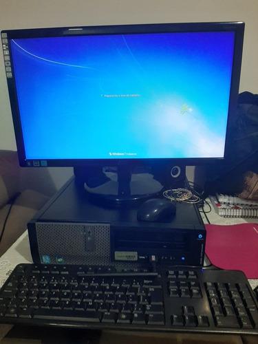 Computador Dell + Monitor Led Aoc 21,5 + Teclado Dell +mouse