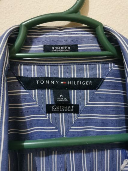 Camisa De Vestir Original Tommy Hilfiguer