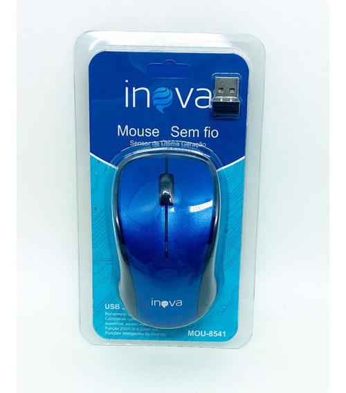 5 Mouse Óptico Inova Sem Fio Wireless Mou-6925 E 7039 Atacad