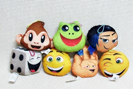 Pelucia Emoji Lote Mc Donalds Bau1 (os Sete)