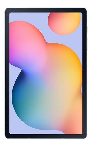 """Imagen 1 de 5 de Tablet  Samsung Galaxy Tab S6 Lite SM-P610 10.4"""" 64GB angora blue con 4GB de memoria RAM"""