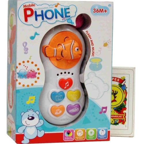 Imagen 1 de 1 de Juguete Interactivo Infantil Con Luces Y Sonido En Caja