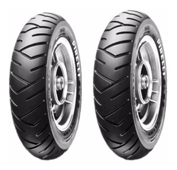 Par Pneu Pirelli 90/90-12 + 100/90-10 Sl26 Honda Lead 110