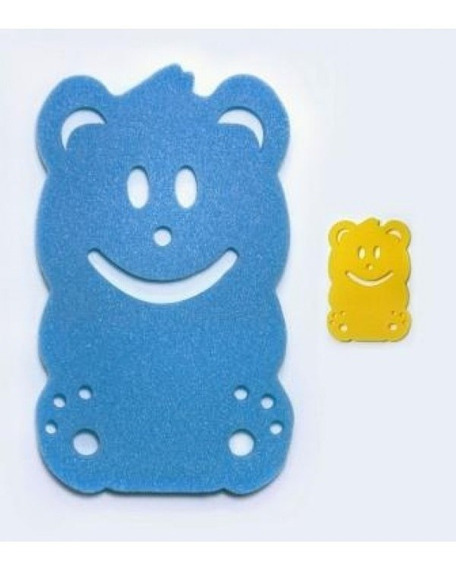 Esponja Antiderrapante Para Banheira Do Bebê + Corpo Esponja