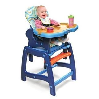 Enveeâ ¢ Silla Alta De Bebé Con Playtable Conversión - Azul