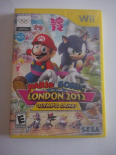 Mario Y Sonic At The London 2012 Oly.mpic Games Wii Remato