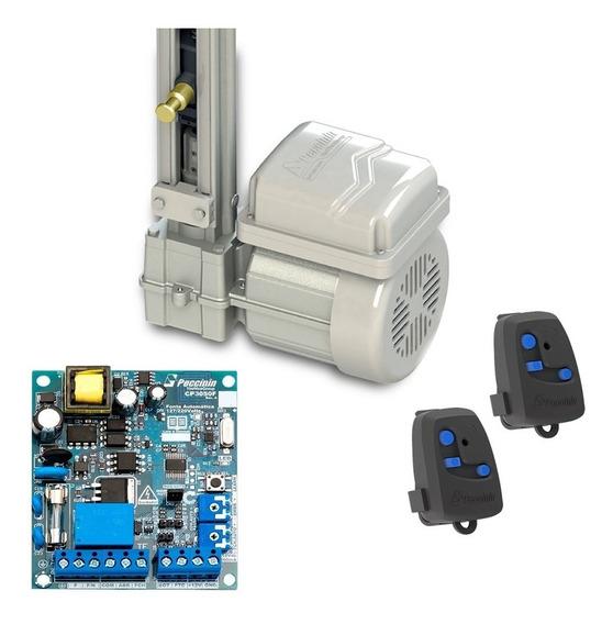 Kit Motor Portão Eletrônico Basculante Peccinin 1/4hp Rápido
