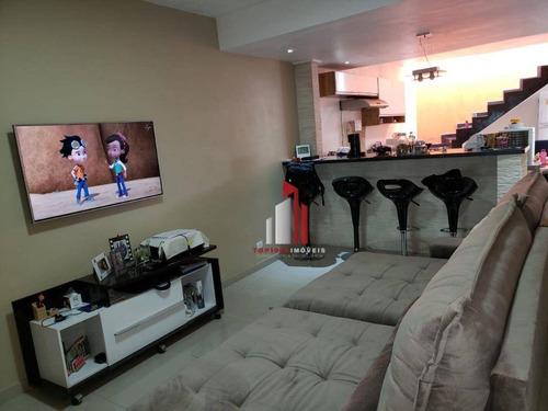 Sobrado Com 3 Dormitórios À Venda, 120 M² Por R$ 477.000,90 - Jaraguá - São Paulo/sp - So0022