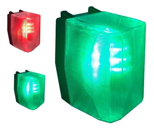 Imagen 1 de 3 de Semáforo Garage 24 Led Alta Luminosidad C/timer Sonido