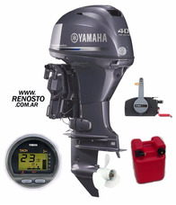 Motores Yamaha 40hp 4 Tiempos Efi Full Pata Corta - Renosto