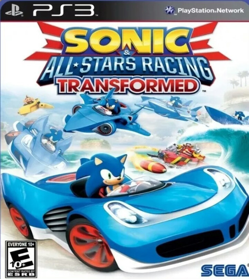 Sonic All Star Racing Transformed Ps3 Play3 Jogo