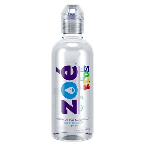 Agua Alcalina Zoé Water Kids, 350ml