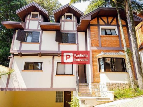 Sobrado Com 4 Dormitórios À Venda, 501 M² Por R$ 2.490.000,00 - Jardim Cordeiro - São Paulo/sp - So3893