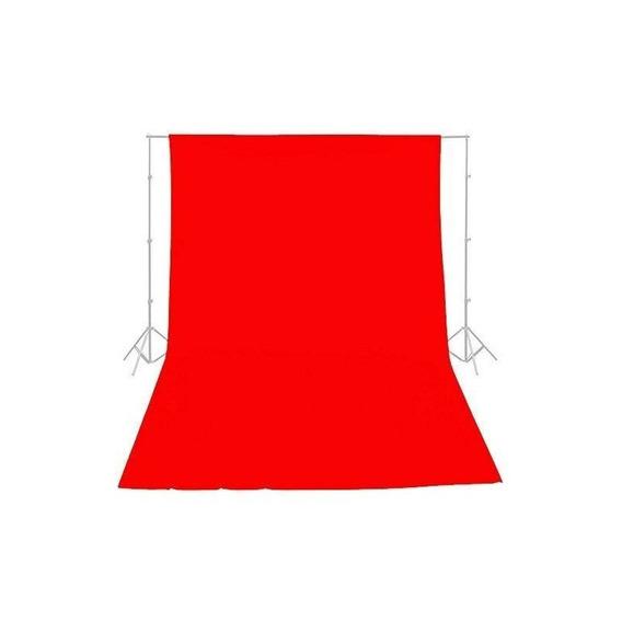 Ephotoinc Rojo 10ft X 20ft Telón De Fondo Estudio De Fotog