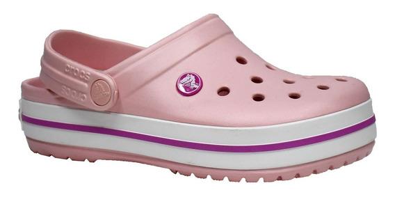 Crocs Crocband Rosa Perlado Originales Rc Deportes
