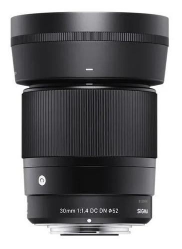 Lente Sigma 30mm F/1.4 Dc Dn Para Sony E Pronta Entrega