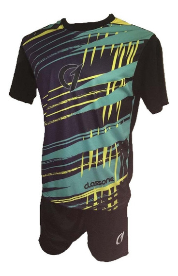Conjunto Remera Short Dry Fit Tenis Paddle Class One Mix