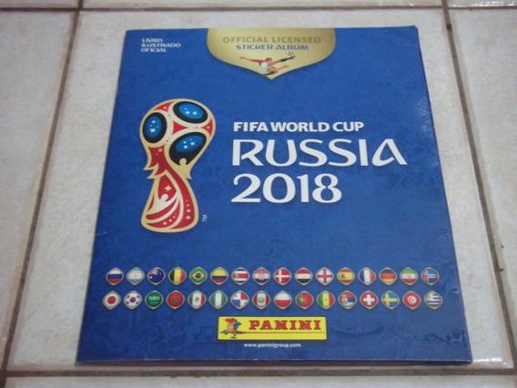 Album De Figurinhas Copa 2018 - Completo - Copa Do Mundo - Z