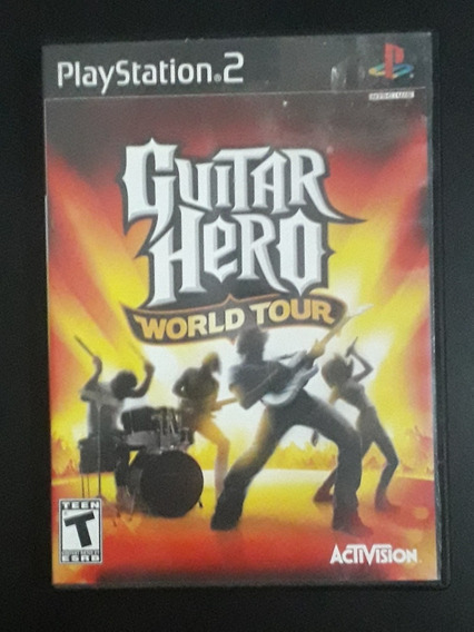 Guitar Hero World Tour | Jogo Original Para Playstation 2