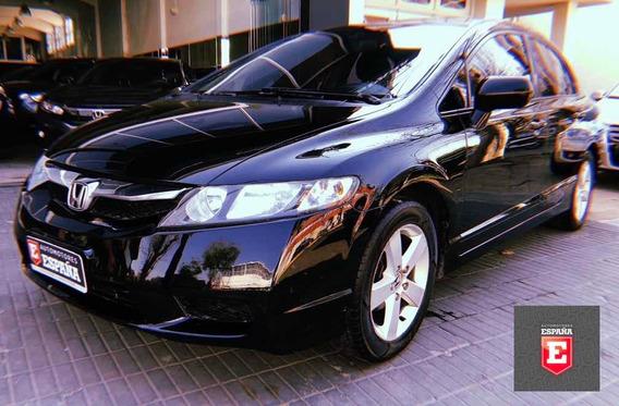 Honda Civic Lxs 1.8 2010 Full Con Llantas, 4 Lev Vidrios, Cd