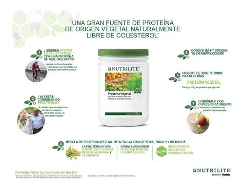Proteina Vegetal Nutrilite