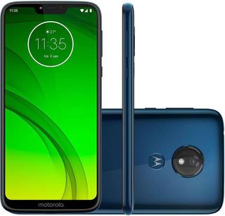 Motorola Moto G7 Power Xt1955-1 32gb Dual Azul Nary Vitrine