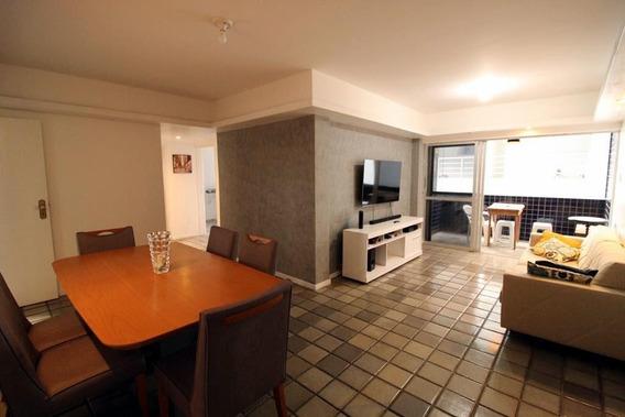 Apartamento Em Ponta Verde, Maceió/al De 129m² 3 Quartos À Venda Por R$ 375.000,00 - Ap422062